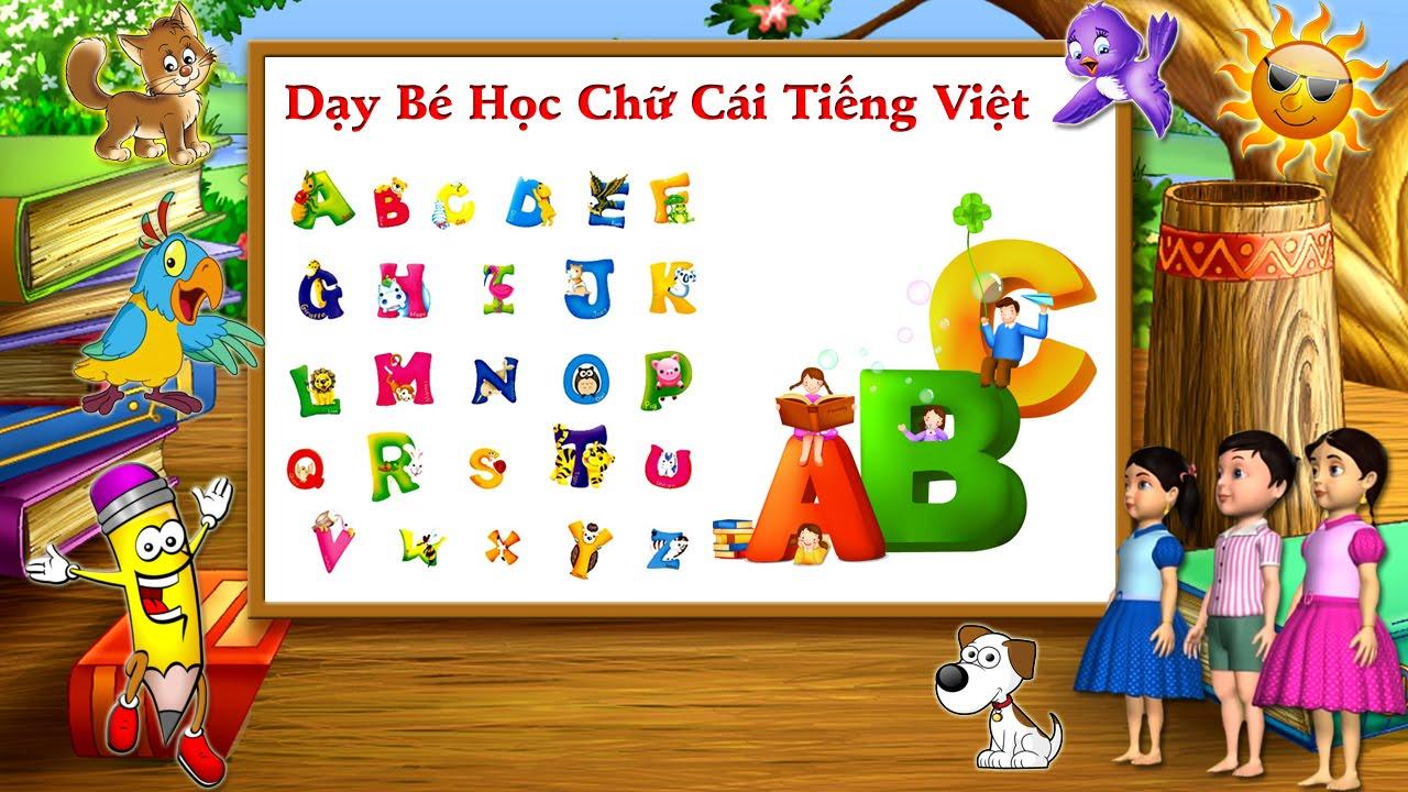 4 phương pháp giúp bé học bảng chữ cái mầm non dễ nhớ