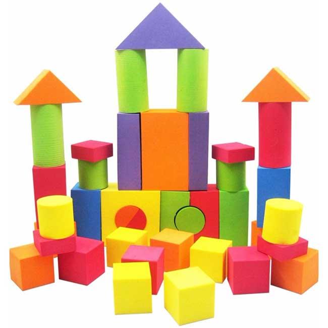 Đồ chơi mút xốp – Thiết bị đồ chơi thân thiện an toàn