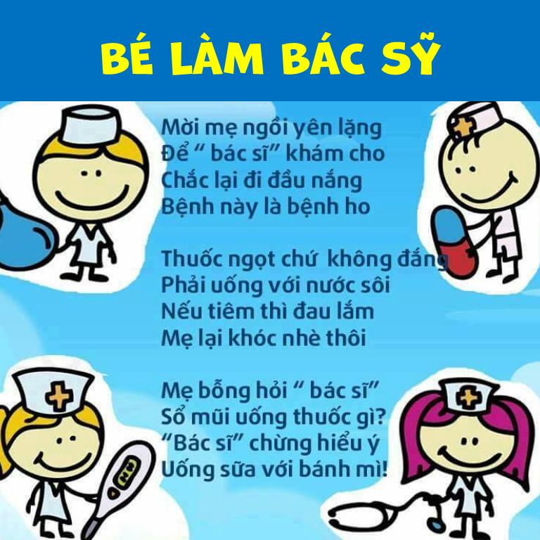 Giáo án bài thơ làm bác sĩ
