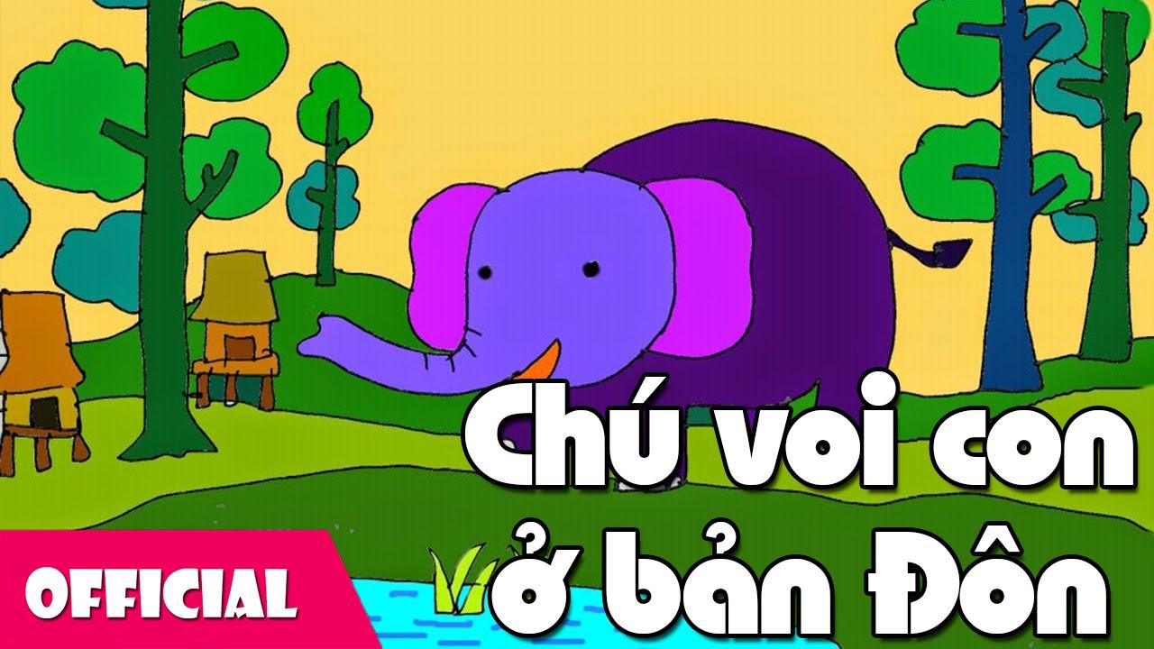 Giáo án dạy hát chú voi con ở bản Đôn
