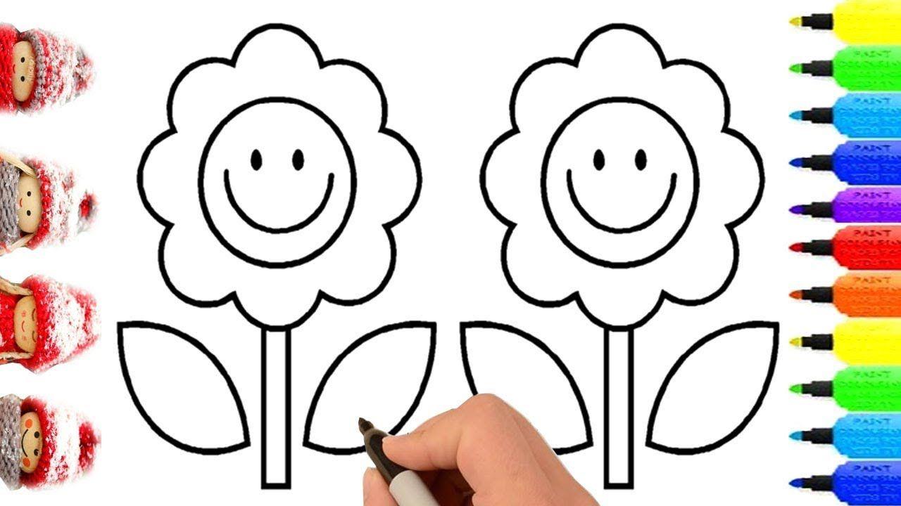 Giáo án Hình vẽ hoa cho trẻ mầm non