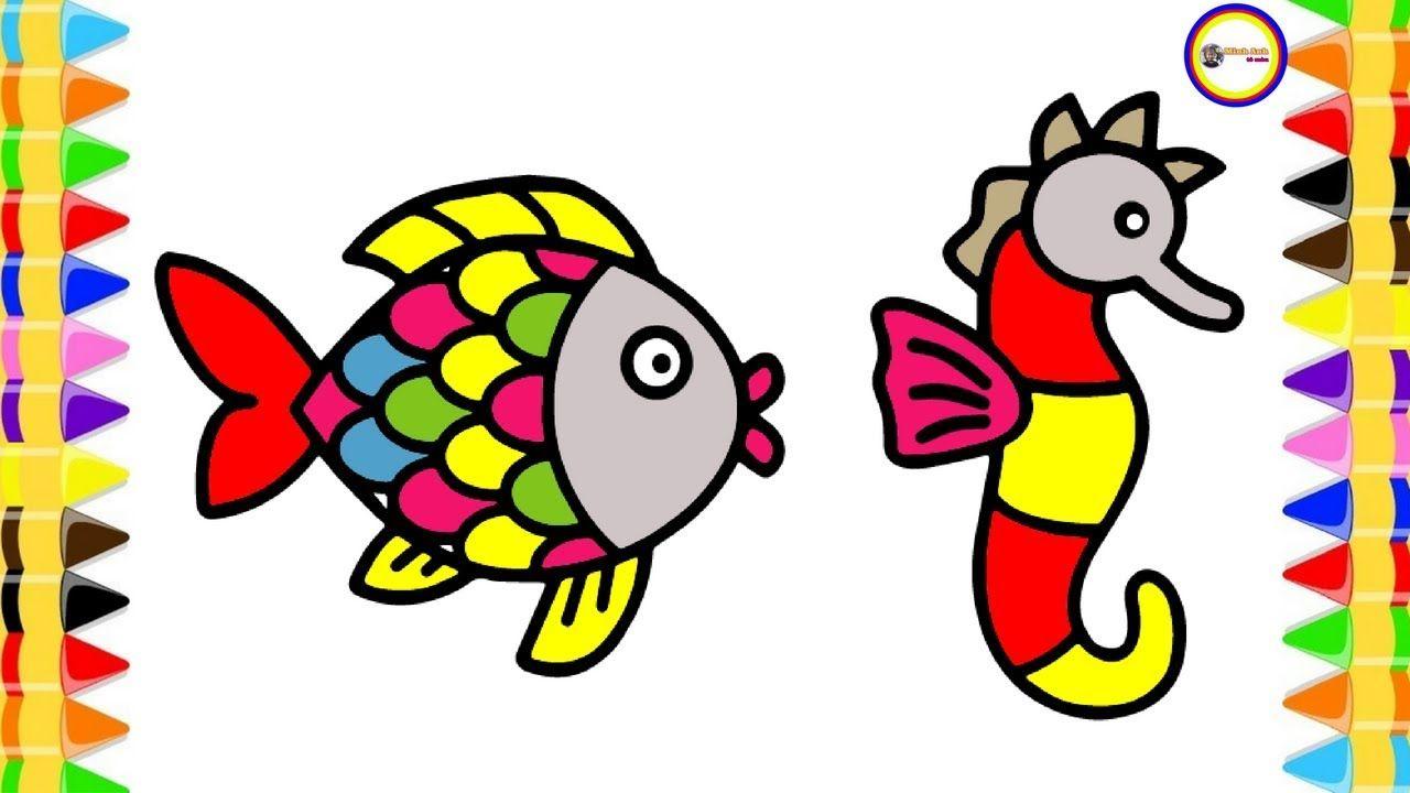 Giáo án vẽ con cá cho trẻ mầm non