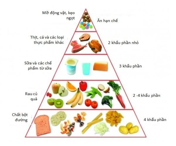 Mẫu thực đơn cho trẻ mầm non đầy đủ dinh dưỡng